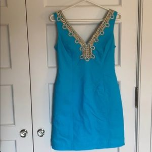 Lilly Pulitzer Turquoise Dress - Size 2